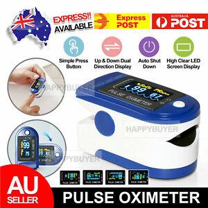 oxygen saturation monitor digital finger pulse oximeter home yoga oxymeter AU