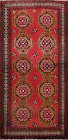 4x6 Balouch Geometric Tribal Hand-knotted Area Rug Classic Oriental Foyer Carpet