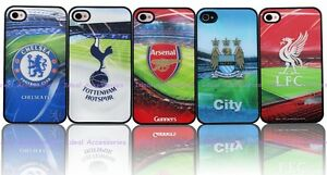 Official Licensed Football Club Team 3D Phone Case Cover for Apple iPhone 4 4S