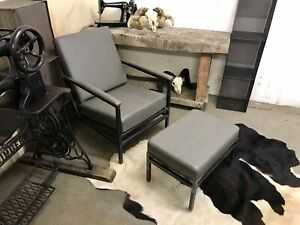 Lounge Chair And Footstool New/Unused