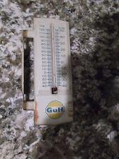 GULF OIL ORIGINAL THERMOMETER
