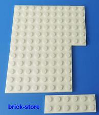 LEGO NR- 379501/2x6 plaques blanc / 10-pc