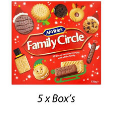 McVITIE'S FAMILY CIRCLE 720g BISCUIT BOX WHOLESALE DISCOUNT x 5 BOXS 196780