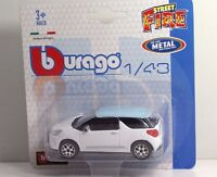 "Bburago 30001 CITROEN DS3 ""White"" METAL Scala 1:43"