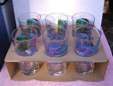 SET OF 6 MID CENTURY MODERN FORSYTH-WILLIAMS INC. GLASSES