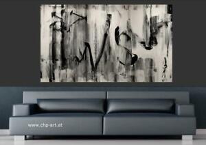 Großes Acryl Gemälde XXL Modern CHP1716 Handgemalt Bild Kunst Abstrakt 160x100cm