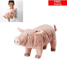 IKEA Pink Pig Soft Toy KNORRIG Kids Baby Stuffed Animal Plush Toy Free Shipping