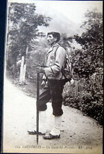 FRANCE ~ 1900's CAUTERETS ~ GUIDE DE PYRENEES ~ FRENCH MOUNTAIN GUIDE~ Ice Pick