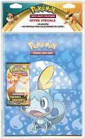 Pokémon Pack Cahier Range-cartes et Booster Épée et Bouclier 3 - Français