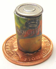 1:12 Empty Scotch Broth Tin Doll House Miniature Can Kitchen Soup Food Accessory