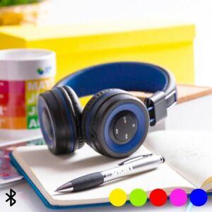 Ecouteurs Bluetooth avec mains Libres bicolores avec contrôle intégré - Casque