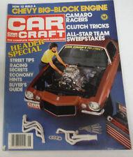 Car Craft Magazine Camaro Racers & Header Special June 1981 080714R