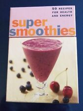 Super Smoothies Deck 50 Recipes Health and Energy Housewarming Gift New Cook