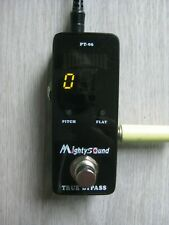 Mighty Sound True Bypass PT-06 Tuner Pedal