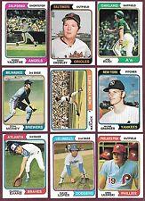 1974 Topps & Traded 6/$1. U Pick #s 89 101 111 139 145 176....653 655 658 o/c EM