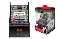 "CONSOLE MINI CABINATO RETRO MY ARCADE PLAYER BAD DUDES 6"" NUOVO ORIGINALE"