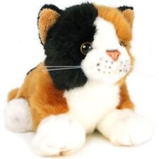 Caliope the Calico Cat | 7 Inch (Without tail!) Stuffed Animal Plush Kitten