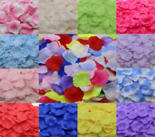500X Silk Rose Petals - Wedding Birthday Celebration Decoration Confetti Wedding