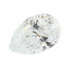 0.87 Carat Very Light Blue Loose Diamond Natural Color Certified Pear