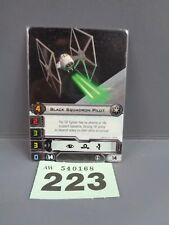 Wargaming X Wing Alt Art Promo 2013 Black Squadron Pilot Card 223