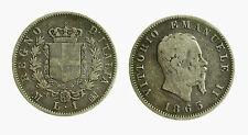 pcc2028_1) VITTORIO EMANUELE II (1861-1878) 1 LIRA STEMMA 1863 MI AR