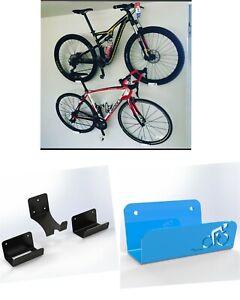 BIKE HANGER WALL MOUNT Pedal Wheel Holder Bracket  Display Rack - ROAD BIKE, MTB