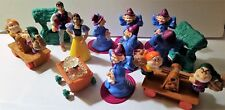 McDonalds 1992 Happy Meal Disney Snow White Prince & Some Dwarfs Lot of 13