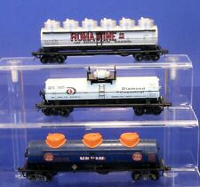 Lot of 3 HO Scale Advertising Tank Cars