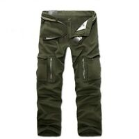 Mens leather Pieced swag Street Drop Crotch Harem Carpenter Drawstrings Pants SZ
