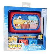 Sonic The Hedgehog Nintendo 3DS / DSi DS Accessory Pack Case stylus