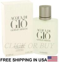 Acqua Di Gio Cologne by Giorgio Armani,3.4 oz/100 ml Eau De Toilette Spray Men's
