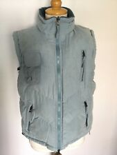 Joules Ladies Blue Reversible Padded Gilet Size L. Good Condition.