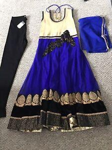Girls Punjabi Bollywood Eid Anarkali Dress