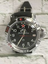 RUSSIAN VOSTOK MILITARY KOMANDIRSKIE WATCH Tank #811306 NEW Original