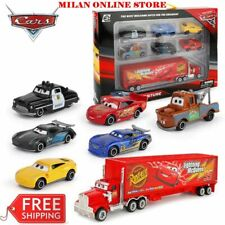 7PCS Disney Car Lightning McQueen Jackson Storm Mack Uncle Truck 1:55 Model Toy