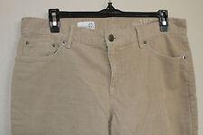 womens GAP 1969 Sexy Boyfriend tan corduroy cords pants straight leg size 27 4