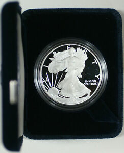 2005-W American Eagle 1 oz Silver Proof Coin with OGP and COA