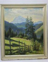 Gustav Müller Ölfarben Hochkalter bei Berchtesgaden