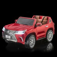 Supertrax® Licensed Lexus® Lx570 Kid's Ride on Car w/Remote Control Cabernet Red