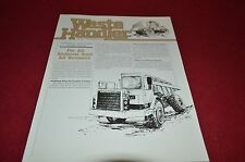 Caterpillar Waste Handler Dealer's Brochure DCPA3
