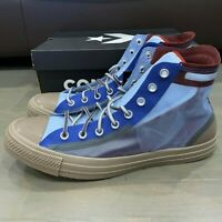 Converse All Star Hi See Through 167275C High Top Blue Red Gray Men's Size 13