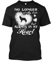 Trendy Newfoundland Dog Gift - No Longer At My Side Hanes Tagless Tee T-Shirt