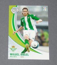 MIGUEL ANGEL REAL BETIS ESPAGNE PANINI CARD FOOTBALL LIGA 2007-2008