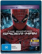 """THE AMAZING SPIDER-MAN"" Blu-ray + UV - Region Free [A,B,C] NEW"