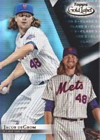 2018 Topps Gold Label Class 3 Black #63 Jacob deGrom New York Mets