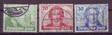 Gestempelte Briefmarken aus Berlin (1948-1949) mit Motiven von historischen Persönlichkeiten