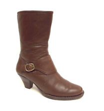 BORN Size 9 Brown Leather Ankle Boots