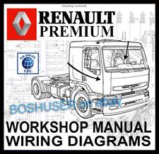 Servicio Premium de camión Camión Renault Taller reparación Manual y diagramas de cableado