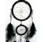 Handmade Dream Catcher with feathers decoration ornament LW