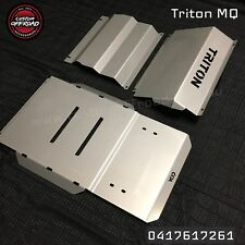 MQ Triton 4mm Stainless Steel 3 Piece Bash Plate Protection Set